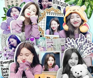 edit, flower, and nayeon image