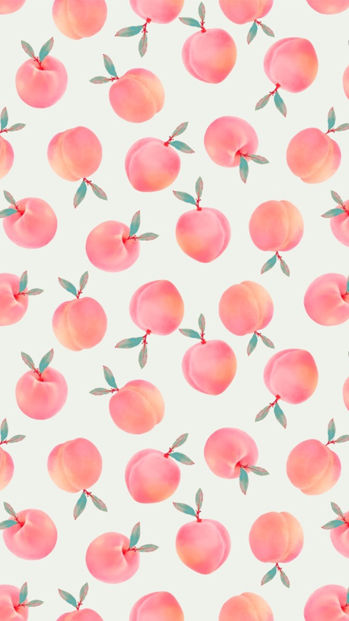 Peach Wallpaper Discovered By Widya On We Heart It