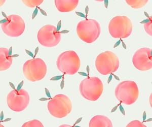 peach, wallpaper, and backgrounds image