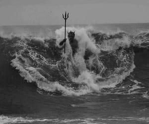 poseidon, ocean, and waves image