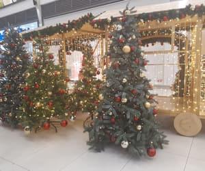 christmas, red, and christmas decorations image