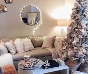 christmas, home, and light image