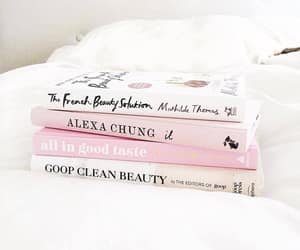 books, pink, and upload image