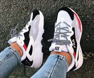 shoes, Fila, and sneakers image
