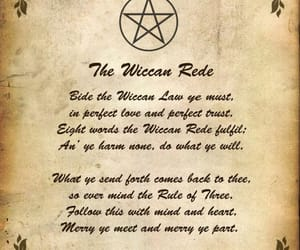 wicca, witch, and wiccan image