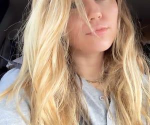 blonde hair, cyrus, and blonde image