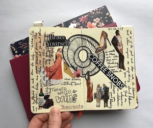 art, diary, and journals image