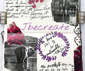 art, Collage, and cs lewis image