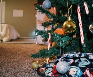 presents and tree image