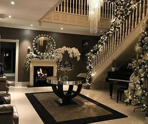 interior, christmas, and decoration image