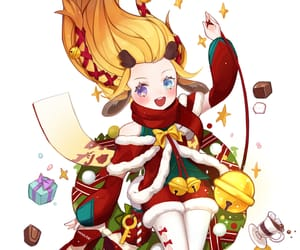 christmas, zoe, and league of legends image