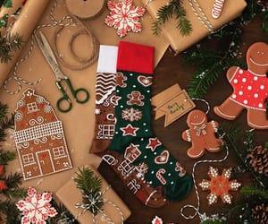 christmas, cozy, and joy image