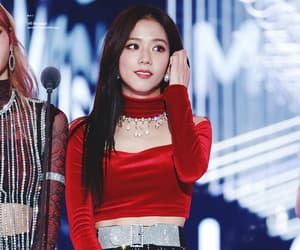 k-pop, blackpink, and kim jisoo image