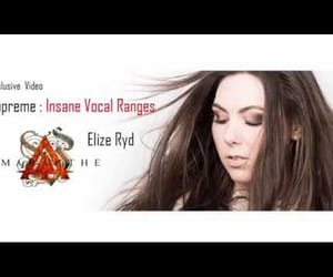 metal, video, and elize ryd image