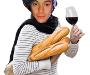 baguette, harry, and meme image