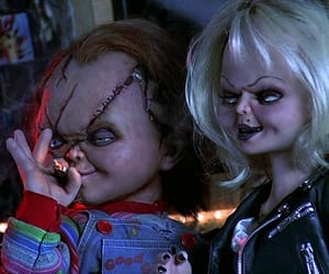 90s, Chucky, and horror image