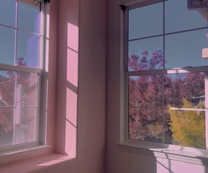 baby pink, pink, and pink room image