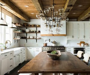 country living, decor, and kitchen image