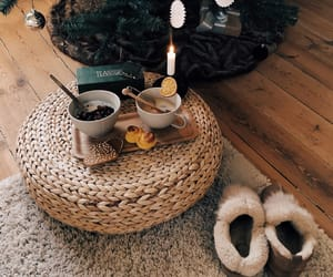 breakfast, christmas, and cosy image