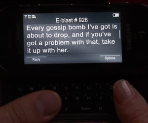 gossip girl and text image
