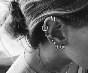 conch, ear, and jewelry image