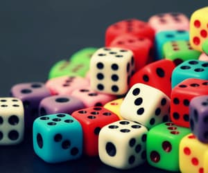 colors, dice, and wallpaper image
