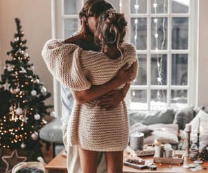 happy, hug, and lovely image