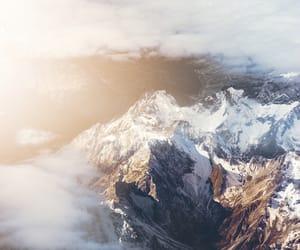 beautiful, foggy, and landscape image