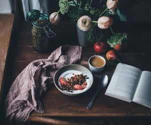breakfast, home, and coffe image