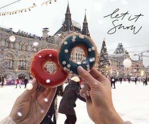 winter, christmas, and snow image