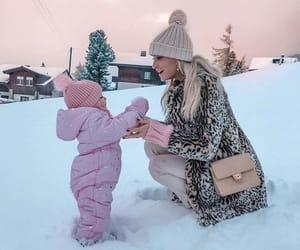 winter, fashion, and christmas image