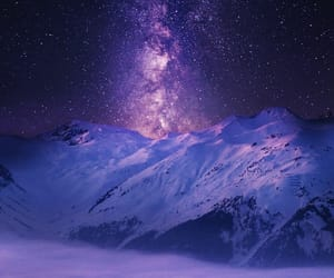 nature, stars, and landscape image