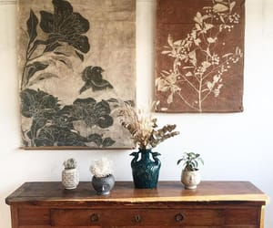 decor, floral, and minimal image