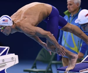 celebrity, guy, and diving image