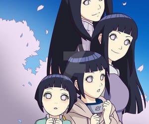 anime girl, naruto, and hinata hyuga image