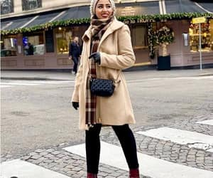 trench coat hijab image