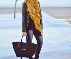 jacket with scarf image
