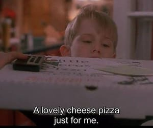 pizza, home alone, and movie image