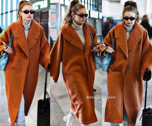 Gigi Hadid at the airport in Milan, December 6th 2018