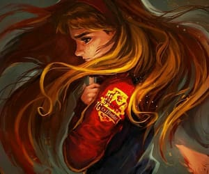 harry potter, gryffindor, and hermione image