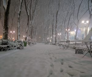 snow, streets, and winter image