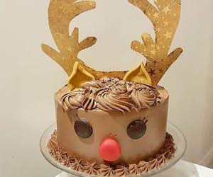 ❄ REINDEER CAKE ❄