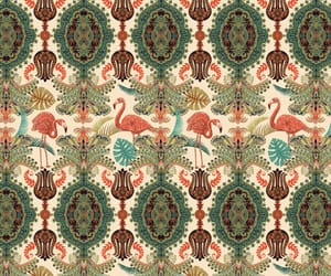fabric, ornament, and wallpaper image