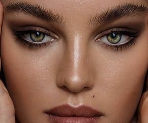 beauty, skin, and eyes image
