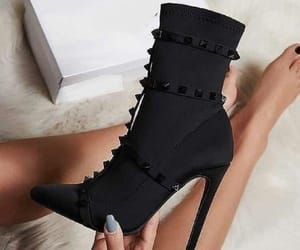 heels, shoes, and ankle boots image