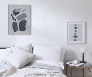 art, bedroom, and interior image