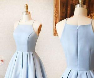 dress, homecoming dress short, and homecoming dress blue image