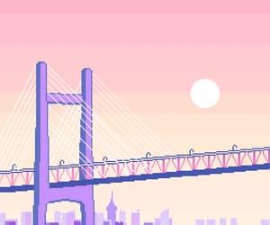8bit, bridge, and indie image