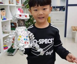 asian baby, korea, and daebak image
