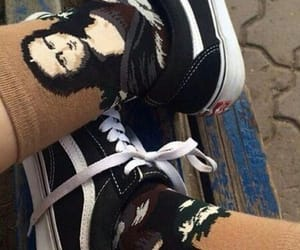 grunge, vans, and socks image